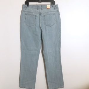 St. John's Bay Stretch Classic Lighter Jeans 14